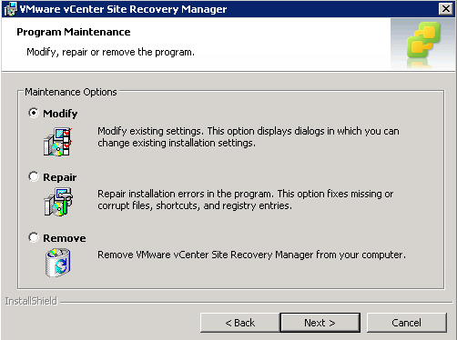 Site Recovery Manager – vCenter Server SSL Replace – Steven Kang